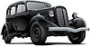 Old fashioned sowjetischen Auto