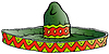 Cartoon Big mexikanischen Sombrero-Hut