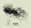 Векторный клипарт: Абстрактный сеть фона подключения