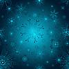 Векторный клипарт: Бесшовные градиент узор Рождество