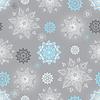 Vektor Cliparts: Winter-silbern nahtlose Muster