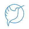 Векторный клипарт: колибри птица знак