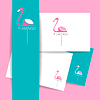 Векторный клипарт: Фламинго птица знак