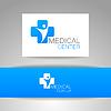 Векторный клипарт: Логотип шаблон медицинский центр