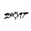 Vektor Cliparts: 2017 Hahn neu
