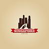 Singapur Asien Wahrzeichen der Stadt