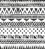 nahtlose Stammes Textur. Primitive geometrische