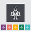 Robot toy   Stock Vector Graphics