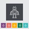 Roboterspielzeug | Stock Vektrografik