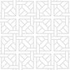 灰色几何形状Tesselate模式 | 向量插图