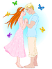 romantisches Paar