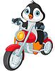 Penguin Motorradfahrer