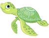 Vektor Cliparts: Sea Turtle
