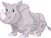 Cute Rhino | Stock Vector Graphics