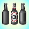 Векторный клипарт: пивные бутылки