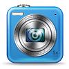 Векторный клипарт: Easy значок камеры