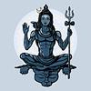 Hindu-Gott Shiva