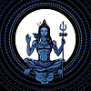 Lord Shiva. Hindu-Gott.