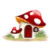 Fantasie Pilzhaus