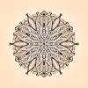 Radial Blumenmuster | Stock Illustration