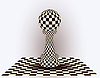 Chess Pawn. Vektor-Illustration