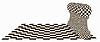 abstrakter Hintergrund mit einem Chess Pawn, Vektor-