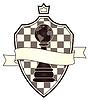 Schach-Wappen, Vektor-Illustration