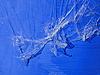 위에 추상 투명 플라스틱 유포 조각 | Stock Foto