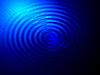 Streszczenie niebieskim oświetlenie, duchowa koncepcja | Stock Foto