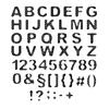 Rasterschrift | Stock Vektrografik