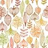 Textur mit Blätter-Schmetterglinge | Stock Vektrografik