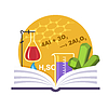 Chemie Emblem | Stock Vektrografik