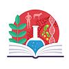 Biologie Emblem | Stock Vektrografik