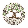Keltischer Baum des Lebens | Stock Vektrografik