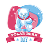 Polar Bear Day | Stock Vektrografik