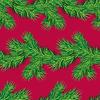 Nahtloses Muster mit Weihnachtstannenbaumzweig,