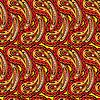 Modelo inconsútil decorativo abstracto con Paisley | Ilustración vectorial