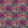 Nahtloses Muster mit Realistische Grafik flowers -