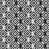 Schwarz-Weiß-Wechsel Kreisen durchschnitten