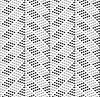 Gepunktete Zickzack mit dunklen und hellen Punkten | Stock Vektrografik