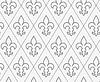 Perforierte konterte Fleur-de-lis | Stock Vektrografik