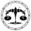 Знак зодиака Весы | Векторный клипарт
