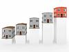 Wykres z domów | Stock Illustration
