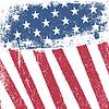 Amerikanisches patriotisches Grunge-Hintergrund