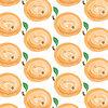 Vektor Cliparts: Aquarell Aprikosen Hintergrund