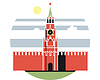 Moskauer Kreml Tag