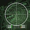 Drone Radar Screen