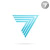 Pfeil-Logo-Vorlage | Stock Vektrografik