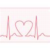 Векторный клипарт: ЭКГ - электрокардиограмма корма