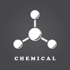 Векторный клипарт: Значок Абстрактный молекула